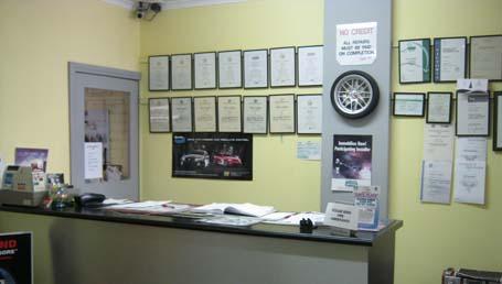 GSD Reception Area