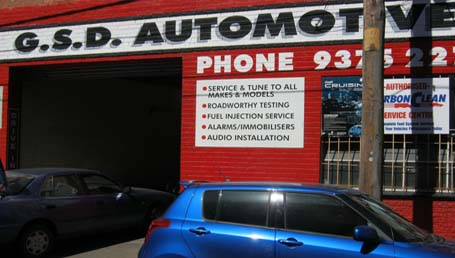 GSD Automotive Shop
